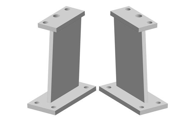 Стойка ДМТ наружная (левая правая)