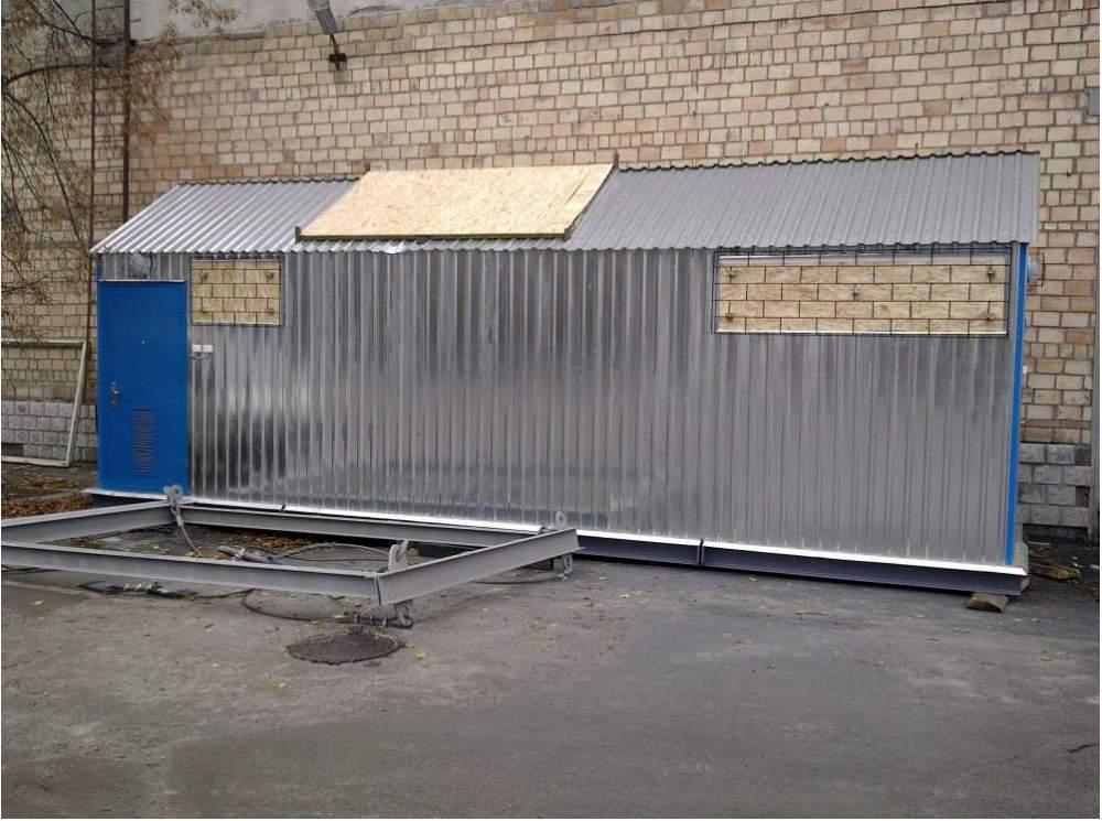Купить Транспортабельная модульная котельная установка 2,5 т.пара/час, Украина