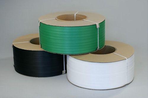Купить Лента ПП 19мм х 0,9мм зеленая