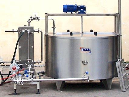 Купити Молочний міні-завод, продуктивність від 500 до 1000 л / с