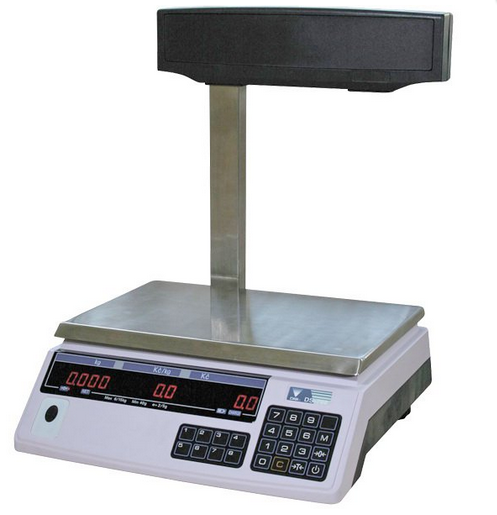 Trade scales of DIGI DS-788P