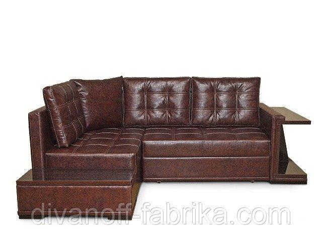 Угловой диван со столом Турин-2