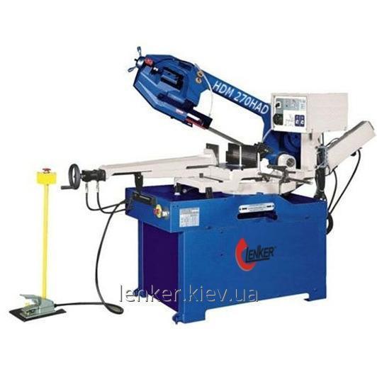 Купить Полуавтоматический ленточный отрезной станок по металлу Lenker HDM 270HAD (ленточная пила)