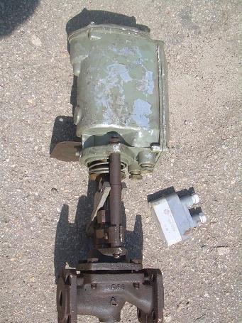 Клапан запорный с электромагнитной защелкой серии СВВ фланцевый 25ч892п Ду25 Ду65 Ру16