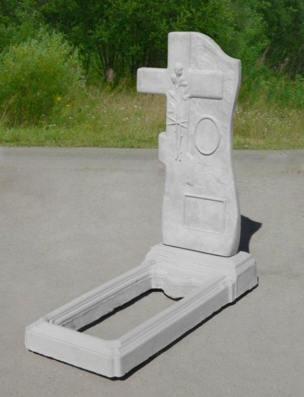 Как изготовить ритуальный памятник из бетона