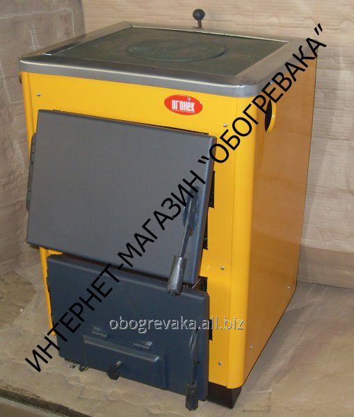 Котел твердотопливный КОТВ-14П (с плитой)