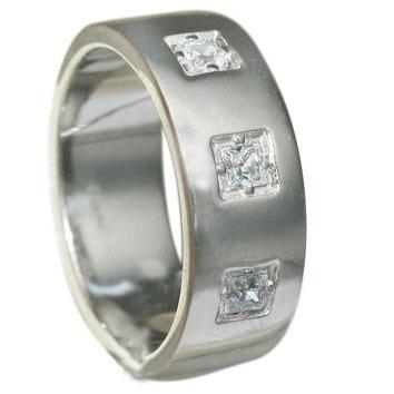 8ccb2962ef88 Кольцо обручальное, белое золото Au 585° пробы, ср. вес 10.05 со вставками  - Широкая шинка. Вставки куб.цироний кв. 2,5 2,5 3-0.098, код - ОК206Б