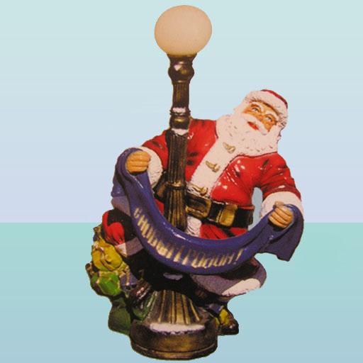 Купить Новогодняя фигура Дед Мороз с шарфом