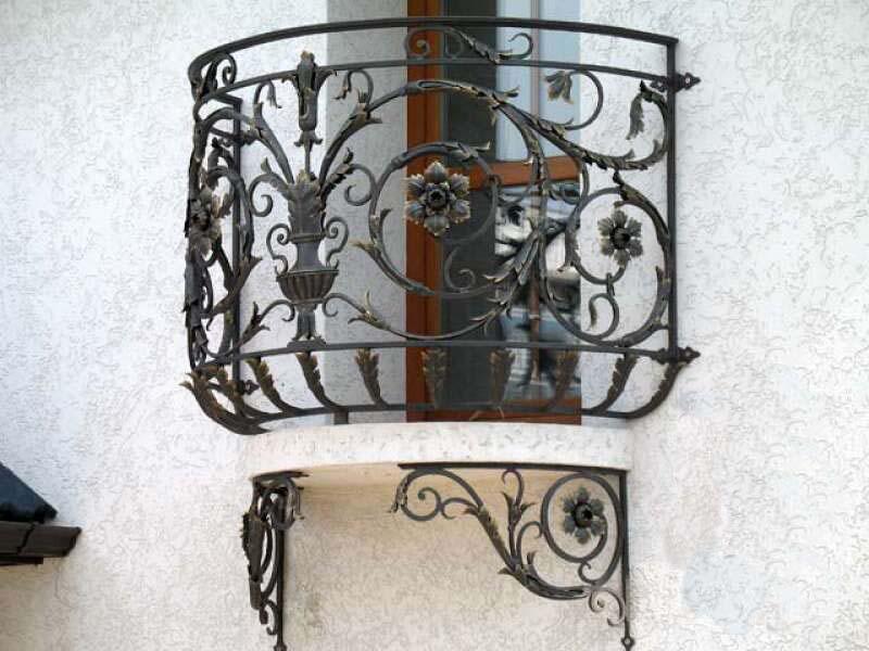 Купить Балконы кованые Арт 1