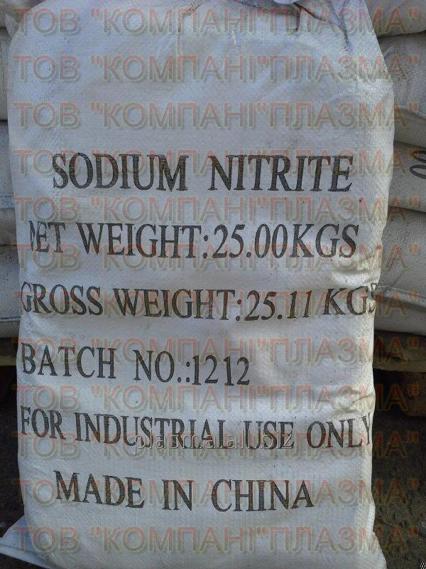 Купить Нитрит натрия, натрий азотистокислый, технический