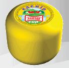 """Твердые сыры  """"Эдемир"""", 50 % жирности, вес 2 кг, ТМ """"Злагода"""""""