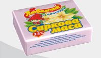 """Творожок (творожная масса) - глазированные сырки с ванилином, 23% жирности, вес 200 гр в фольге кашированной, ТМ """"Любимчик"""""""