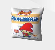 """Ряженка 2,5% жирности, емкость 500 гр в полиэтиленовой пленке, ТМ """"Любимчик"""""""