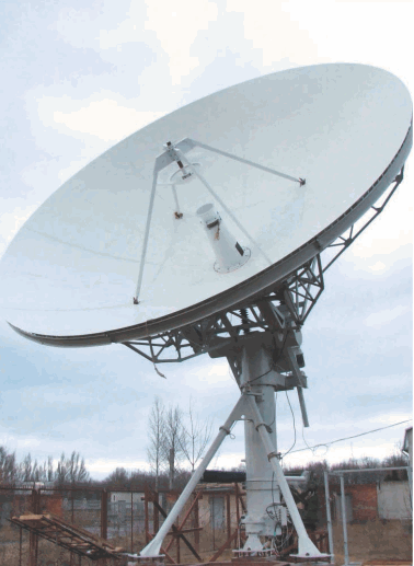 Buy Antenna system of 7,0 m (7,0m Antenna) - professional send-receive antenna system for earth-based stations of satellite networks as a part of earth-based stations of satellite television, a radio communication and the Internet of networks.