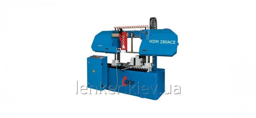 Станок по металлу LENKER HDM 280 ACЕ - автоматический двухколонный ленточно-отрезной