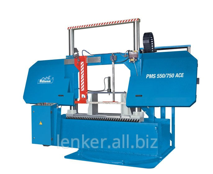 The tape and detachable machine on metal with ChPU Pilana PMS 550/750 ACE