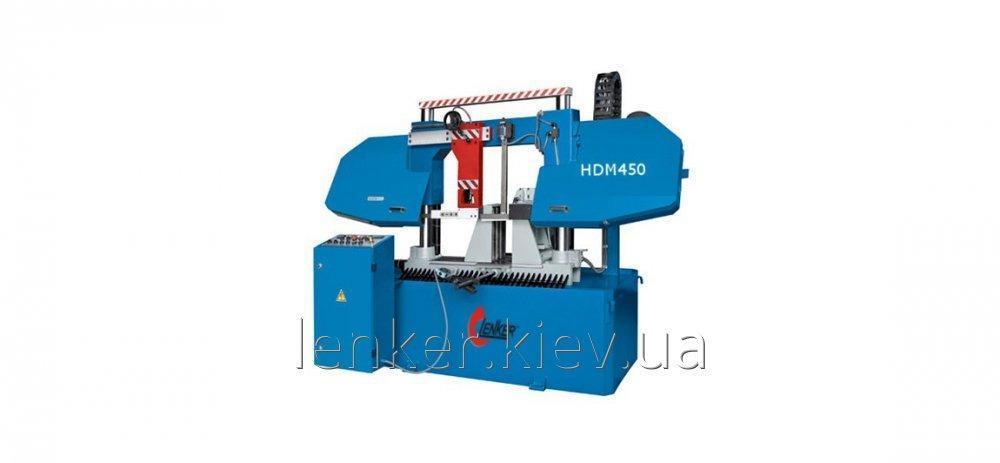 Автоматический колонный ленточно-отрезной станок по металлу HDM 450/450 отрезной станок для резки металла по резке металла станки по металлу ACE