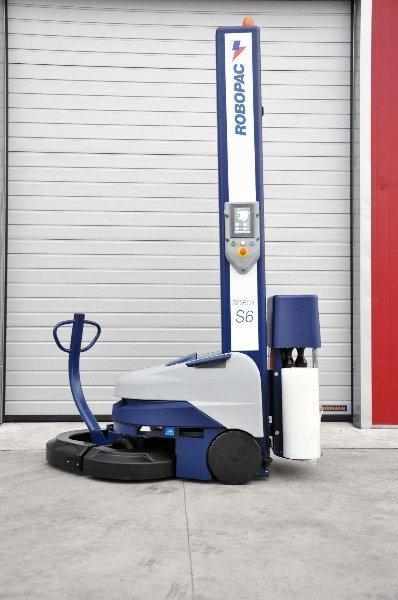 Мобильный паллетоупаковщик Robot S6 производства компании Robopac (Италия)