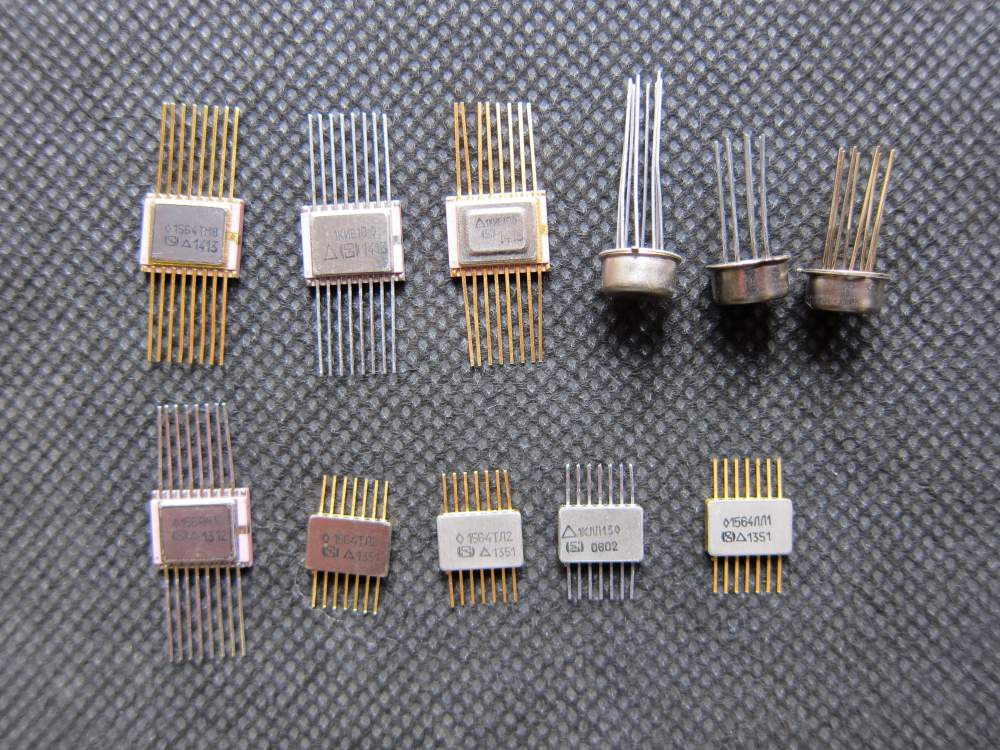Микросхемы: С564,к564(14 -,16