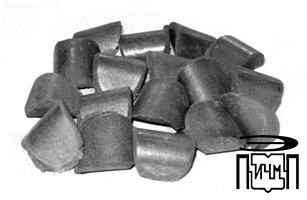Briquetting of cast iron shavings