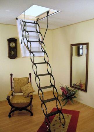 Folding garret ladder of OMAN NOZYCOWE NT 130/60 of cm