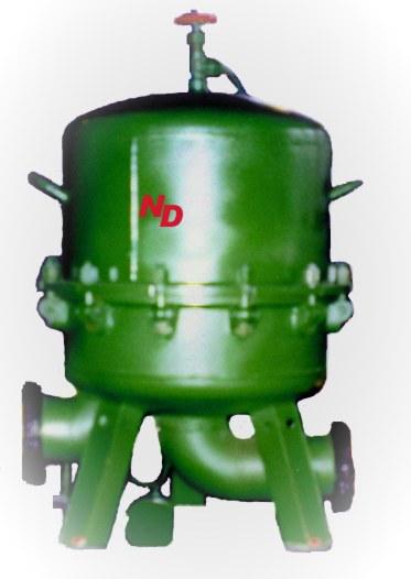 Фильтр для горючего с нетканым фильтрующим элементом ФГН