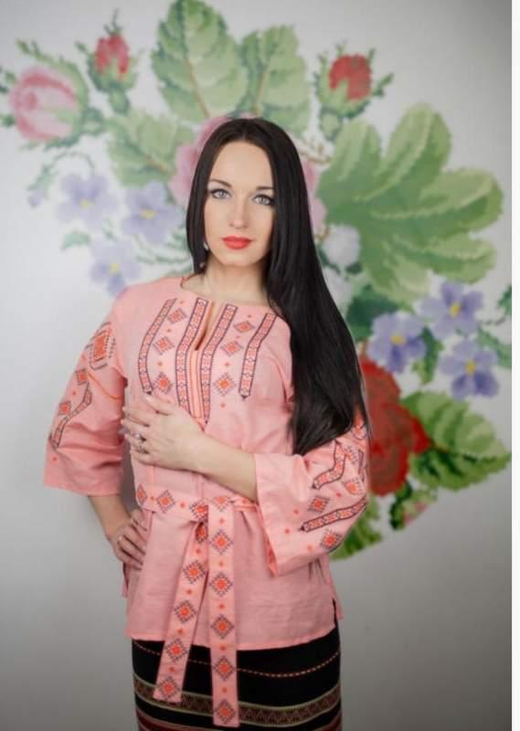 Купить Сорочка М-211 персиковая