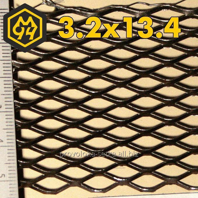 Buy Expanded mesh 3,2х13,4х1,5х0,5 galvanized