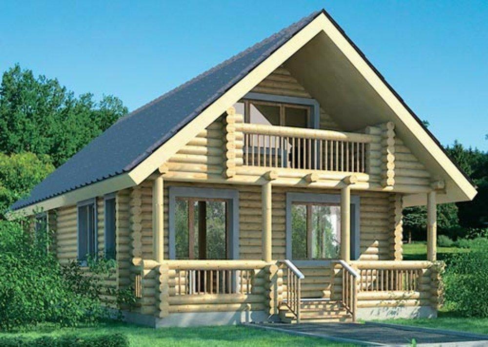 Купить Дом деревянный
