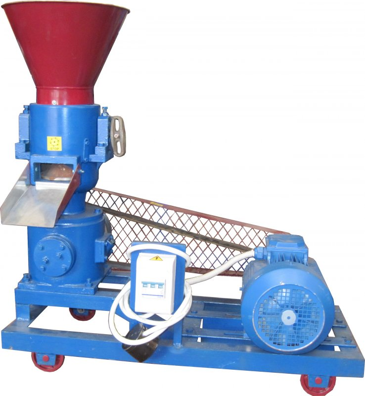 Buy The granulator of forages and GUK-100 pellet, it is possible without engine
