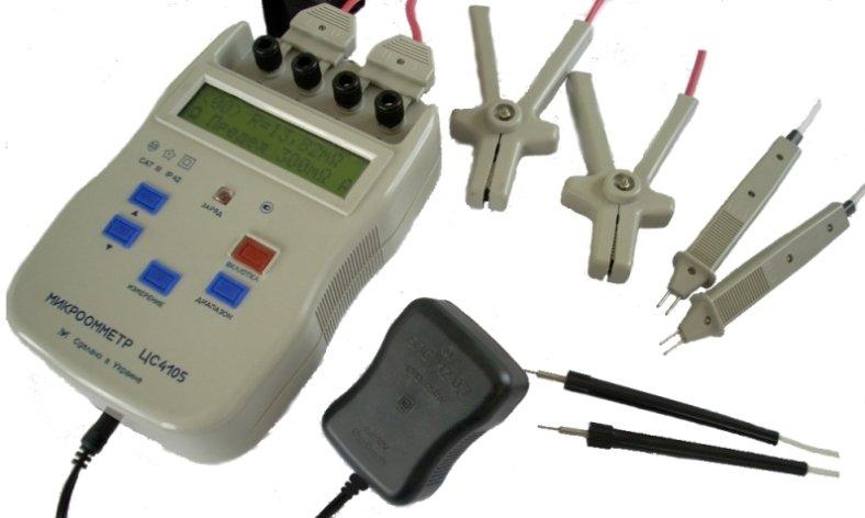 Многофункциональный микроомметр ЦС4105 с цифровым отсчетом савтоматическим выбором диапазона измерения.для измерения электрического сопротивления постоянному току