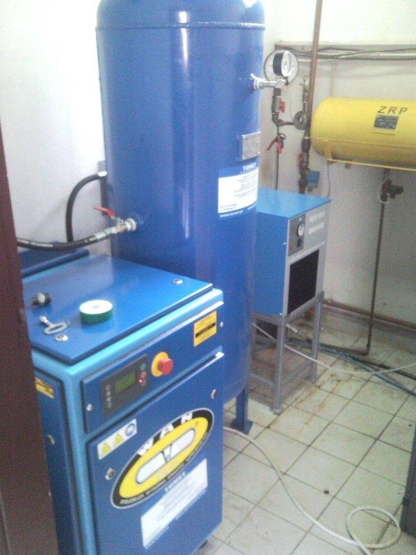 Buy Screw wan nk40 compressor of 7,5 kW 1160 l/min