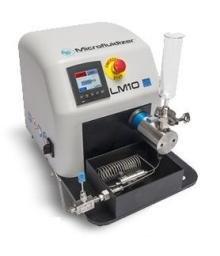 Гомогенізатор високого тиску (микрофлюидайзер) LM10