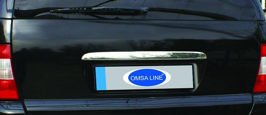 Купить Хром накладка над номером Mercedes Ml-163