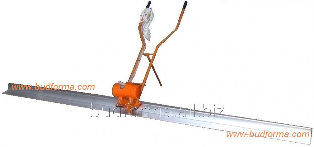 Vibrorail assembled aluminum L-shaped shape 1-3 meters, 220 Volts, 0.25 kW, 3000 RPM, assembled
