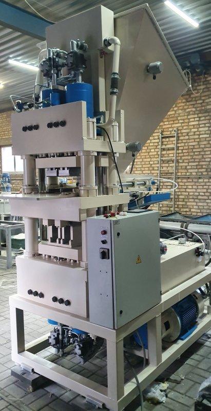 Купить Гиперпресс ПАК-200 автоматический для производства кирпича (2018)