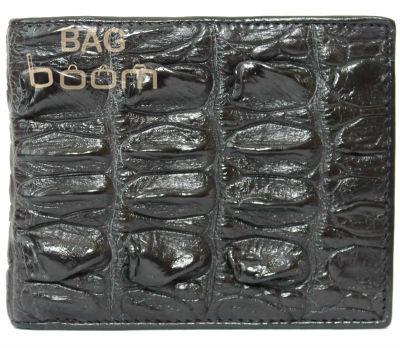 Портмоне из кожи крокодила (ALM 03 BT Black)