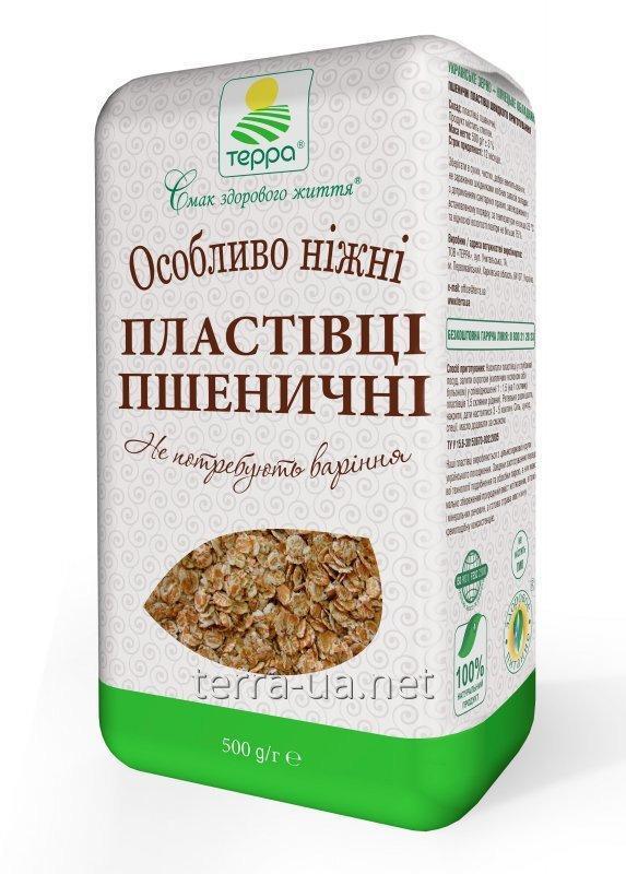 Купить Хлопья пшеничные быстрого приготовления в крафт-пакете