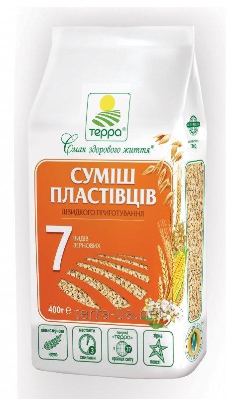 Купить Смесь хлопьев 7 видов зерновых быстрого приготовления