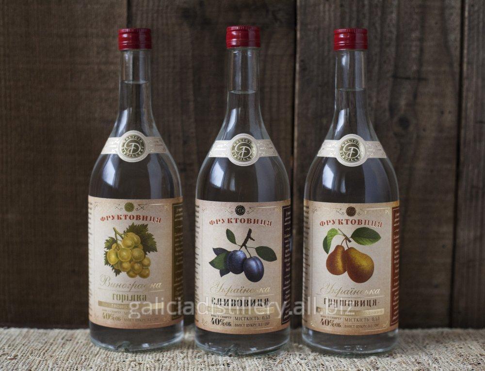 Фруктовиця – украинский традиционный крепкий напиток