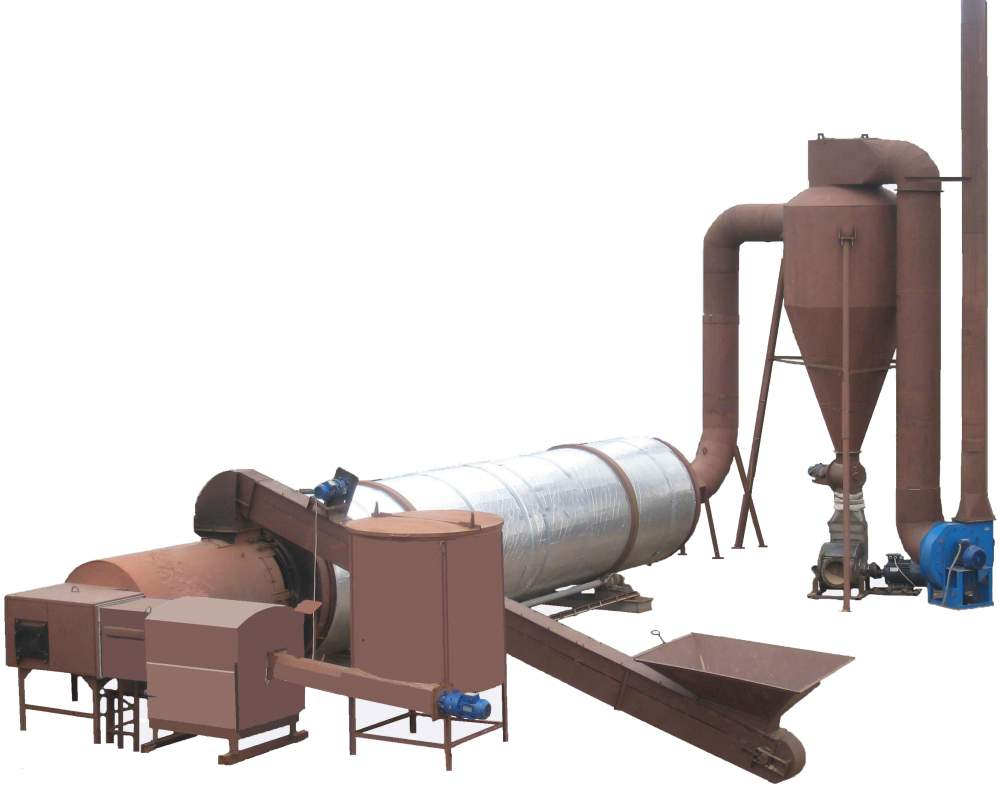 Buy Drier installation (drying complex) for drying of sawdust at production of briquettes and granules