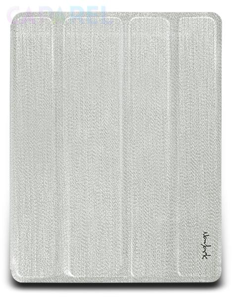 Купить Чехлы NavJack Lurex series Glitter Shiny Silver для iPad 2
