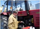 Испытание узла в составе трактора «Беларусь-1025»