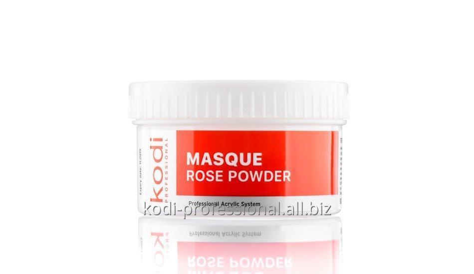 Masque Rose Powder Kodi professional 60 gr Пудра акриловая матирующая Роза
