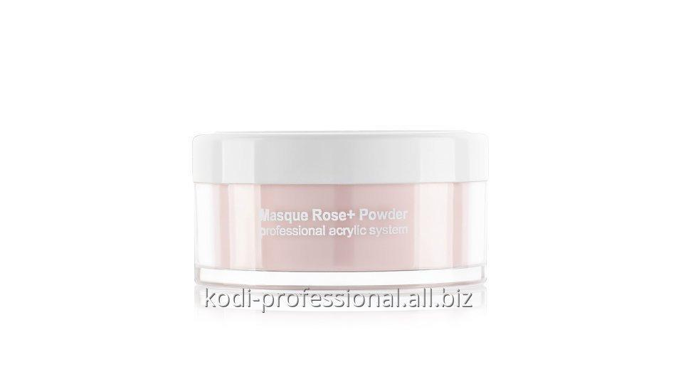 Masque Rose+ Powder Kodi professional 22 gr Пудра акриловая матирующая Роза+