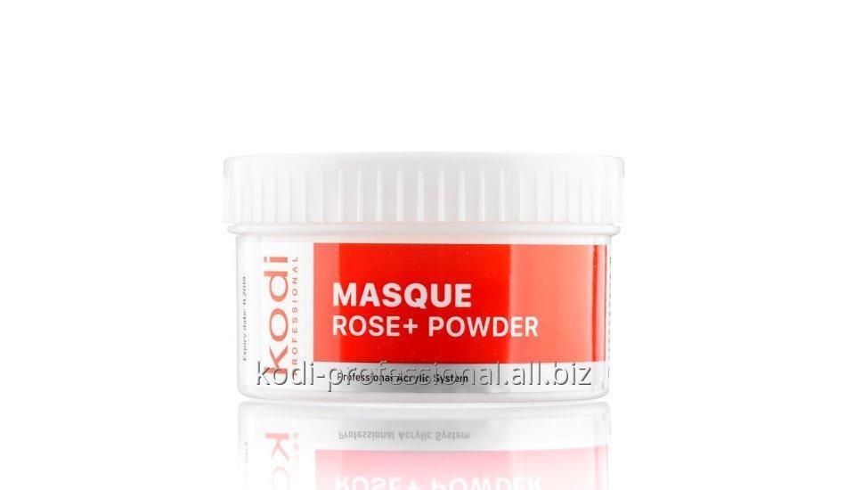 Купить Masque Rose+ Powder Kodi professional 60 gr Пудра акриловая матирующая Роза+