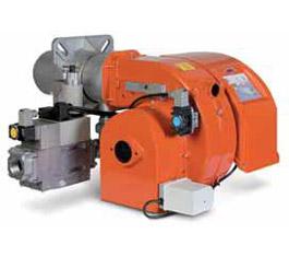 Двухступенчатая прогрессивная газовая горелка TBG 60 PN 50Hz