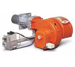 Двухступенчатая газовая прогрессивная горелка TBG 80 LX PN 50Hz