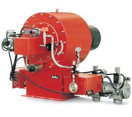 Промышленные двухступенчатые прогрессивные газовые горелки PYR 7 GR 50Hz