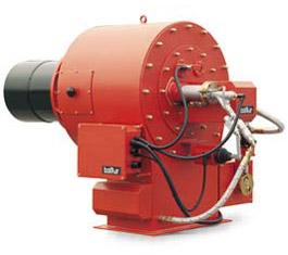 Промышленные двухступенчатые дизельные горелки PYR 7 R 50Hz